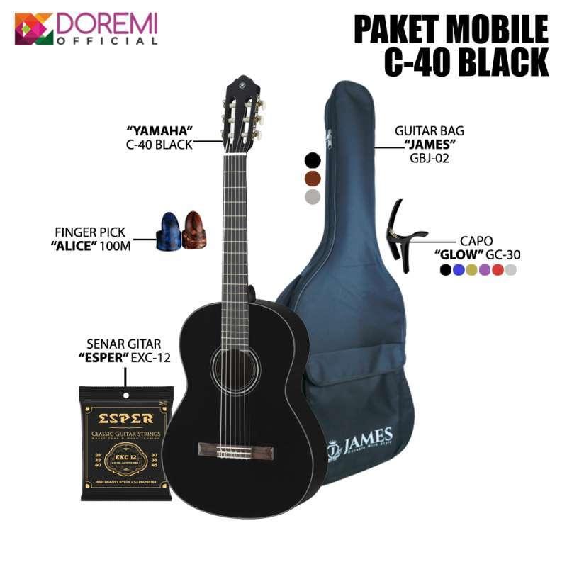 Jual Paket Mobile Gitar Yamaha Classic C40 Online Februari 2021 Blibli