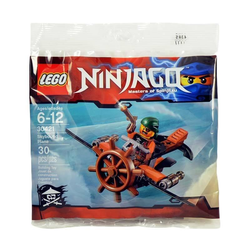 LEGO Ninjago 30421 Polybag Skybound Plane Mainan Blok & Puzzle