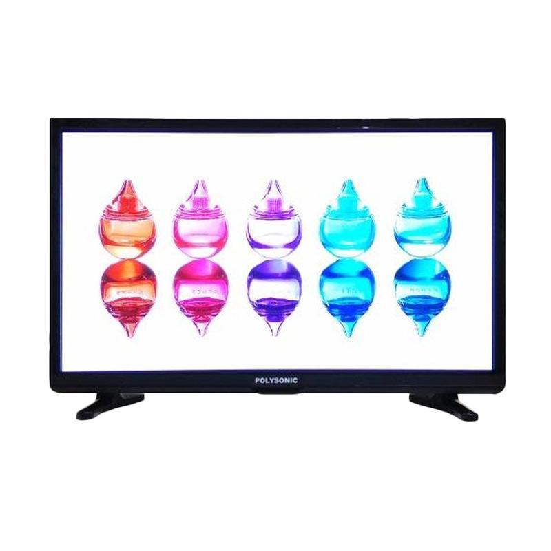 Polysonic 2400 TV LED - Hitam [24 Inch]