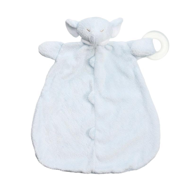 Angel Dear Teether Blankie Selimut Bayi - Elephant