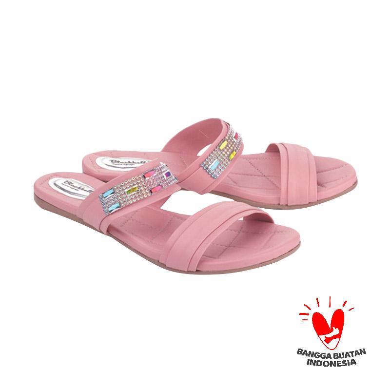 Blackkelly LJI 118 Sandal Flats - Pink