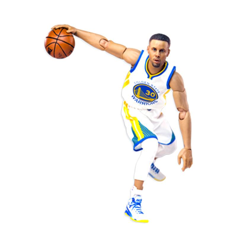 Enterbay NBA 1-9 Stephen Curry MM-1201 Action Figure
