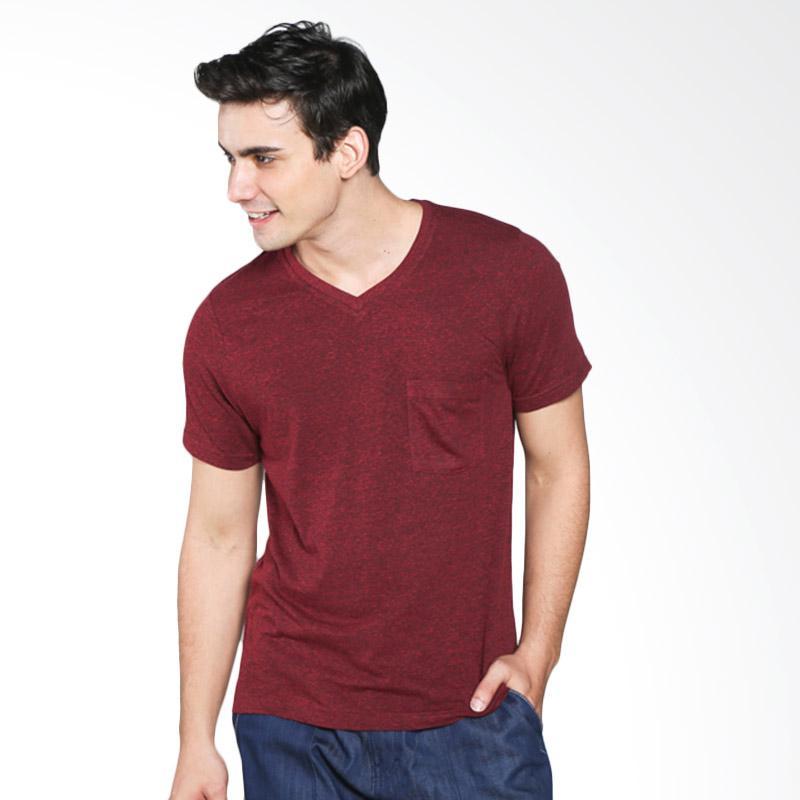 H&R Solid V Neck 17101-3E22N T-Shirt Pria - Maroon Extra diskon 7% setiap hari Extra diskon 5% setiap hari Citibank – lebih hemat 10%