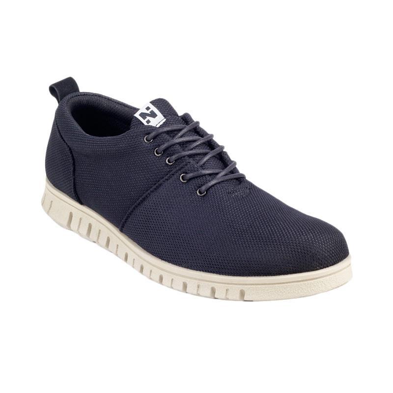 Navara Powell Sneakers Shoes - Black