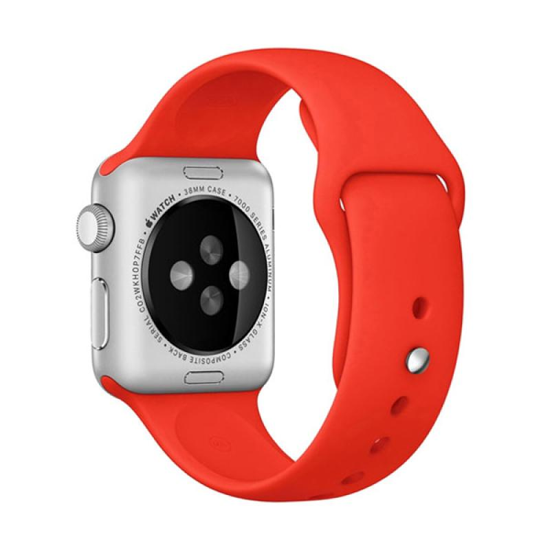 LOLLYPOP Strap Sports Band for Apple Watch 38mm - Red
