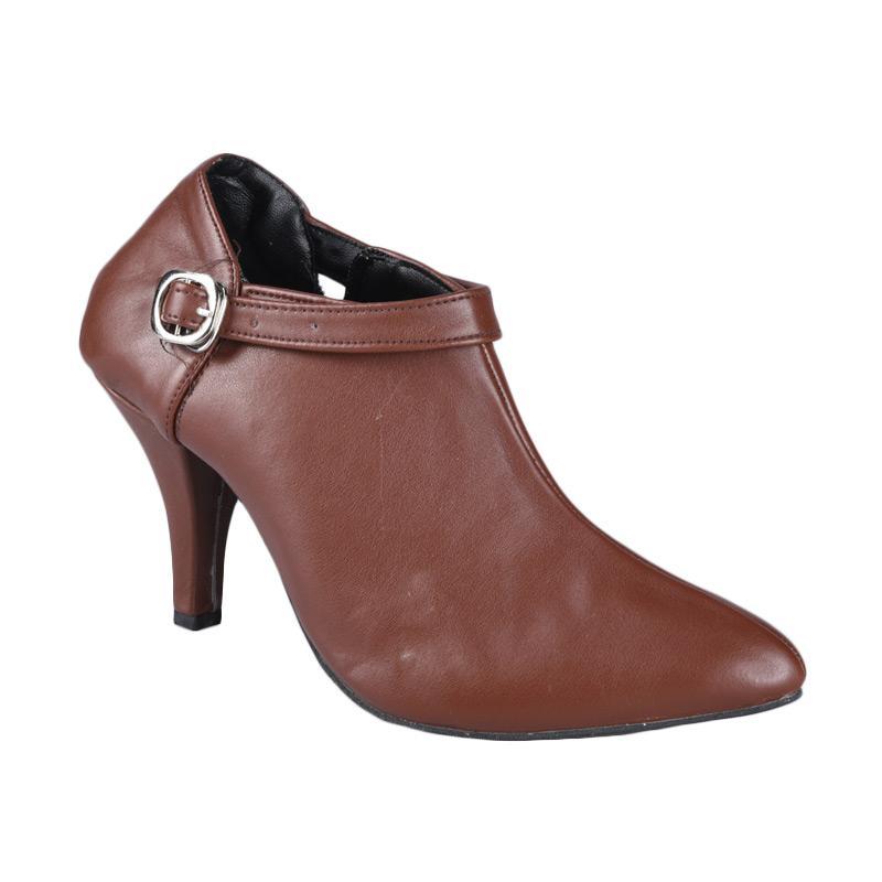 RSM SN-316 Sepatu Boots Wanita - Coklat