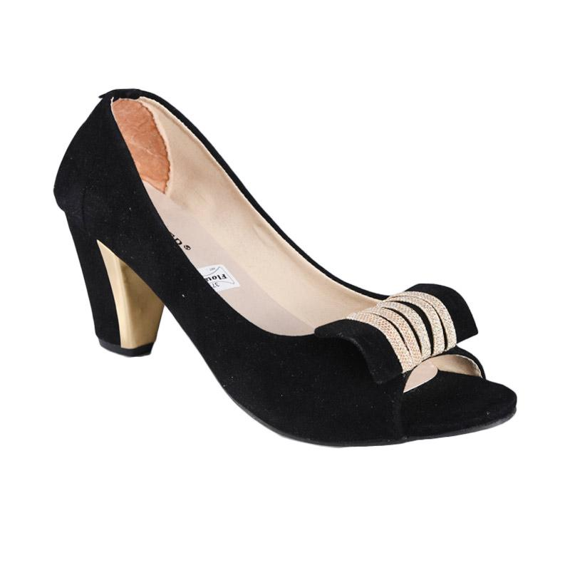 Sepatu SN 203 High Heels Wanita - Hitam