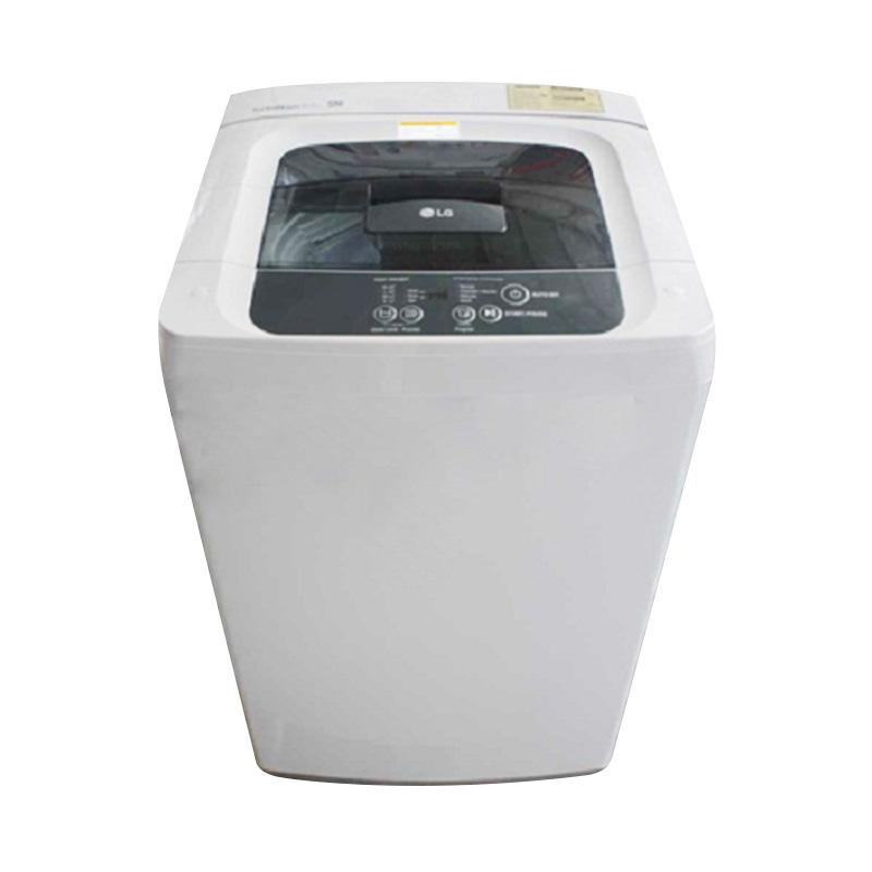 LG TL-100TC Mesin Cuci - Putih [Top Loading/10 Kg]