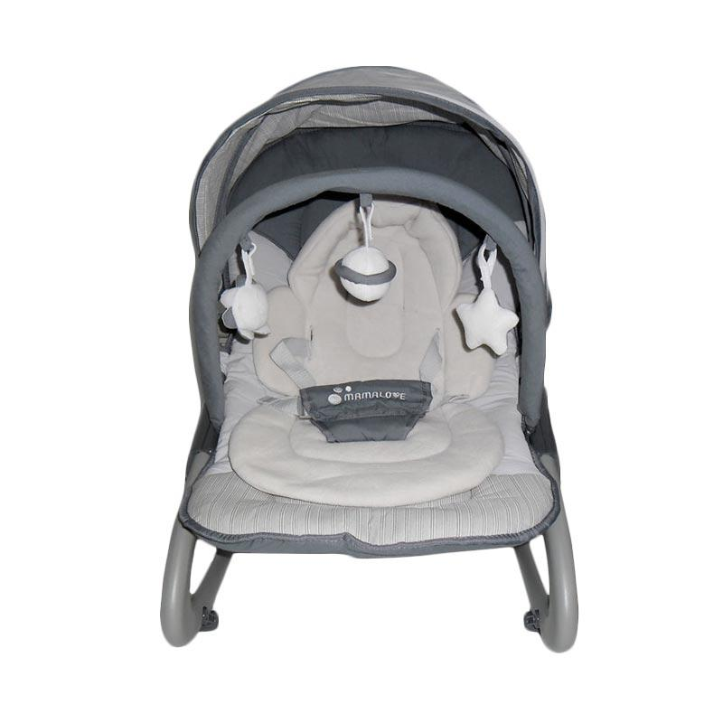 harga Mamalove UC40 Rocker Bouncer - Grey Blibli.com