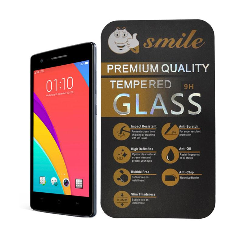 Smile Tempered Glass Screen Protector for Oppo Mirror 3