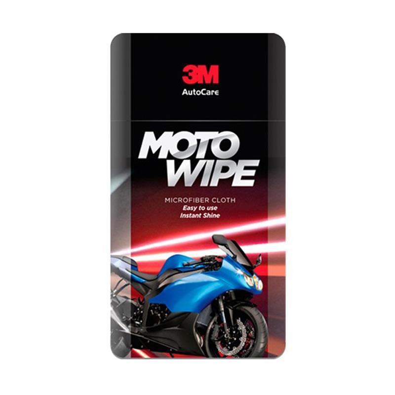 3M Moto Wipe Microfiber Cloth Kain Lap Motor
