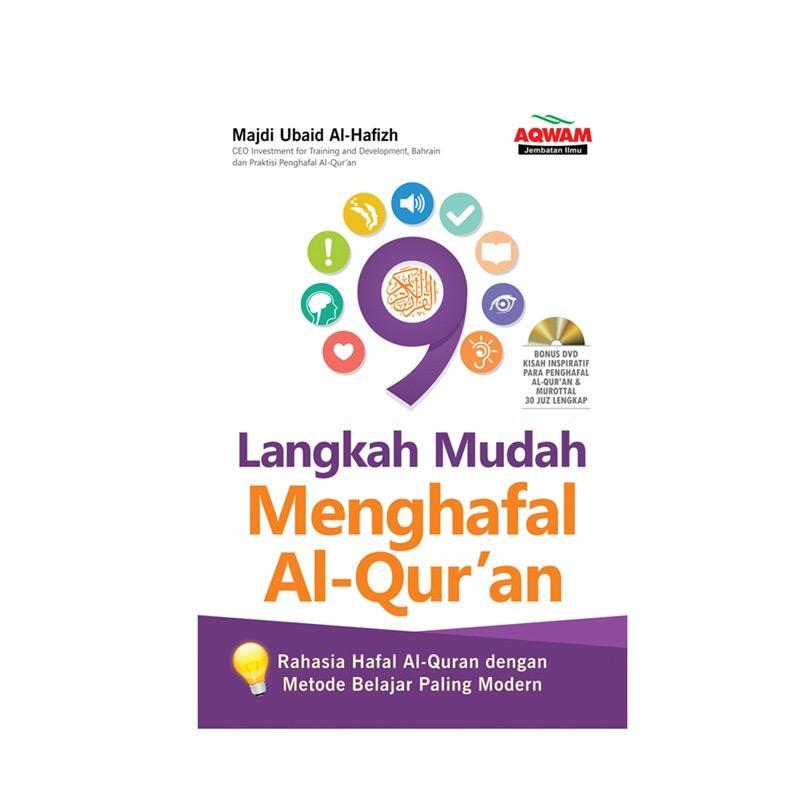 Jual Aqwam 9 Langkah Mudah Menghafal Al-Quran Buku Agama Online - Harga & Kualitas Terjamin | Blibli.com