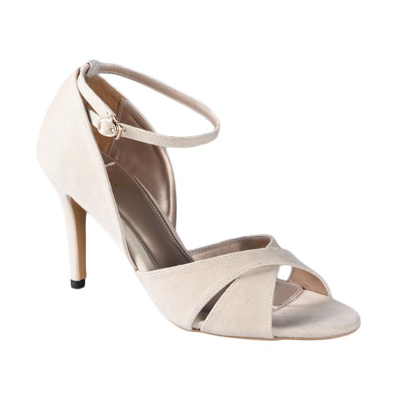 Lina Lee Sky Sepatu High Heels - Cream