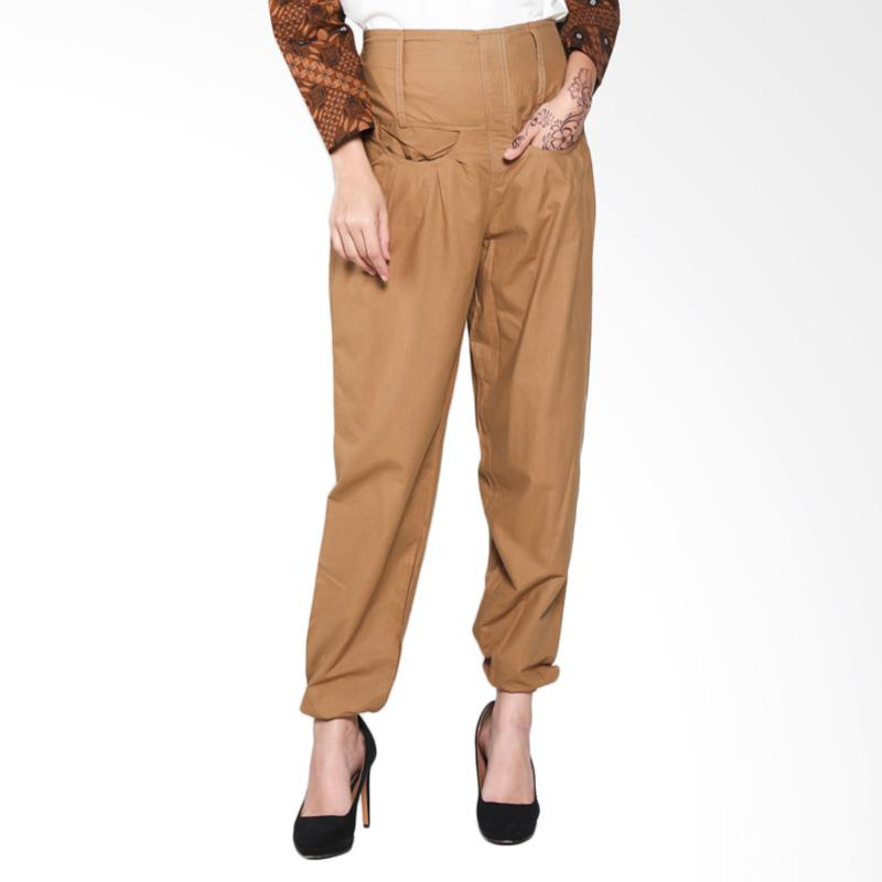 Rauza Rauza Jog Choco Pants - Dark Brown