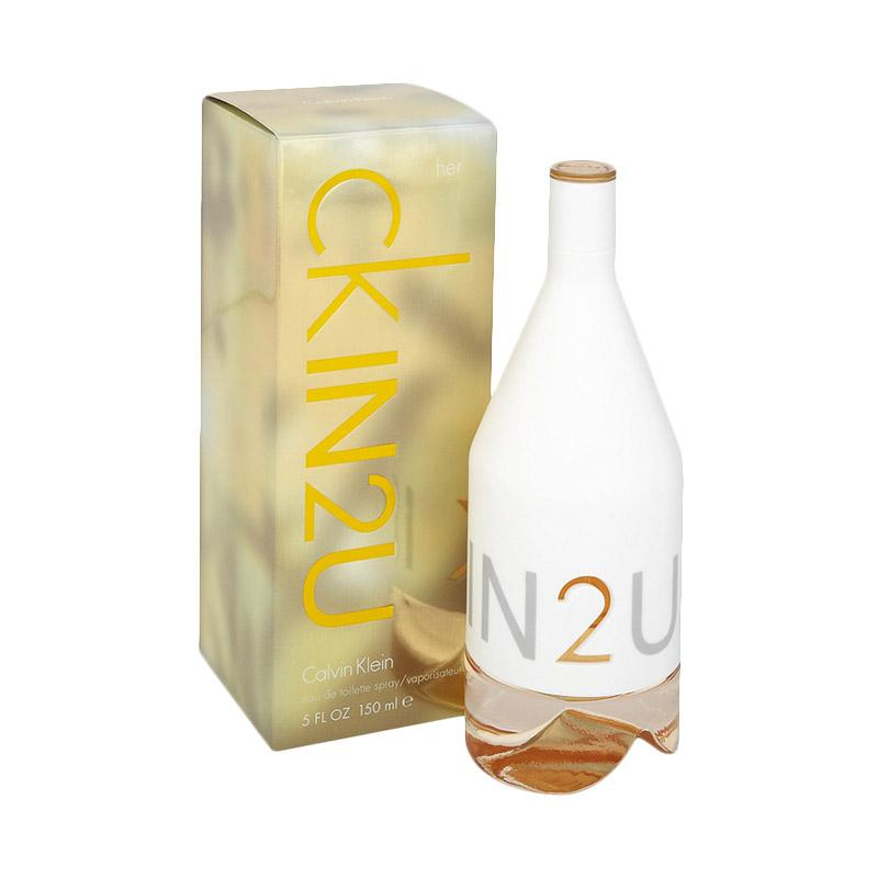 U Parfum Wanita150 Ml Klein 2 Calvin In Woman Edt FlJcKT35u1