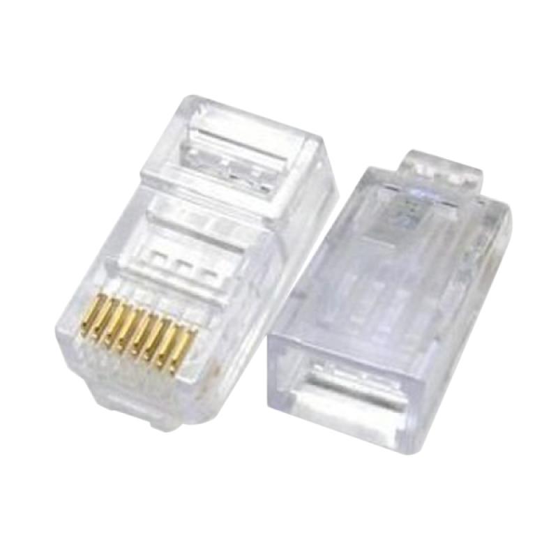 harga Mediatech RJ-45 Konektor [LAN Head/100 Pcs] Blibli.com
