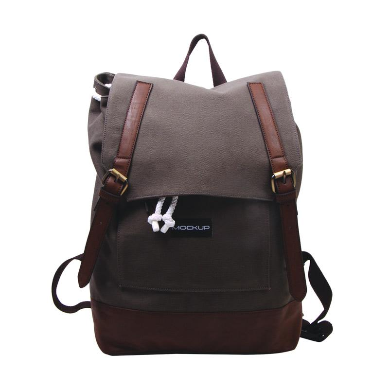 Mock Up BBP.57 Daily Backpack - Chocolate