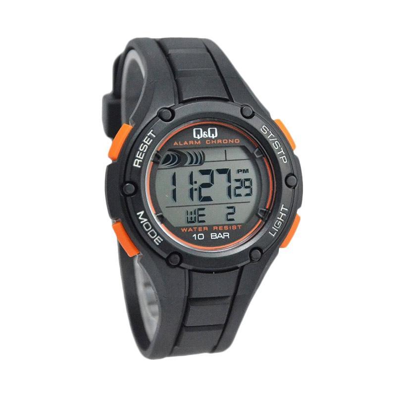 Q&Q Waterproof D47H157M129J003YHTMLO Digital Jam Tangan Pria - Hitam