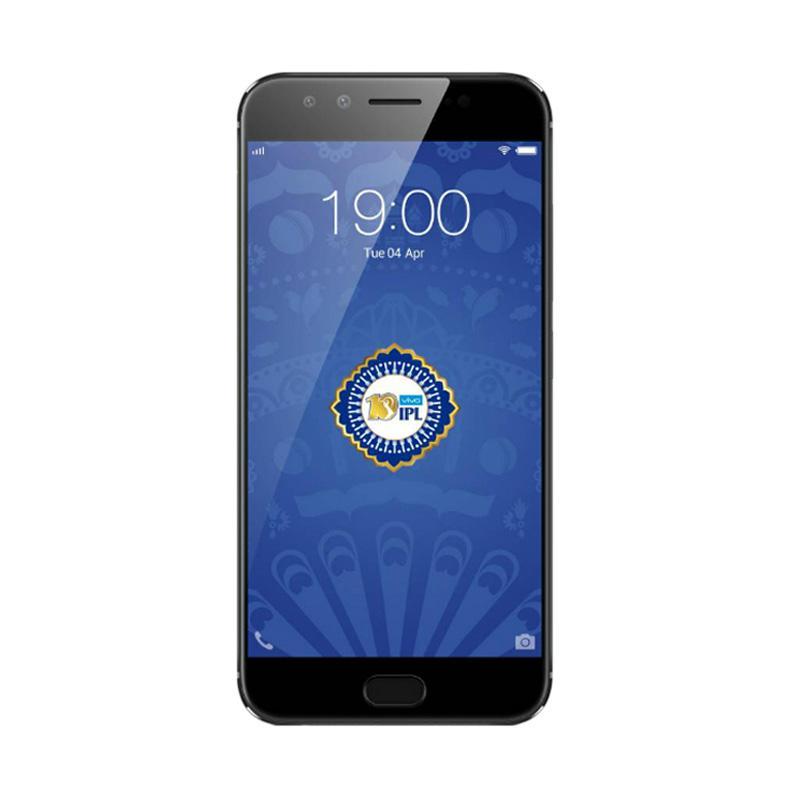 VIVO V5 Plus Smartphone - Black [64GB/ 4GB] - 9309631 , 16081299 , 337_16081299 , 4699000 , VIVO-V5-Plus-Smartphone-Black-64GB-4GB-337_16081299 , blibli.com , VIVO V5 Plus Smartphone - Black [64GB/ 4GB]