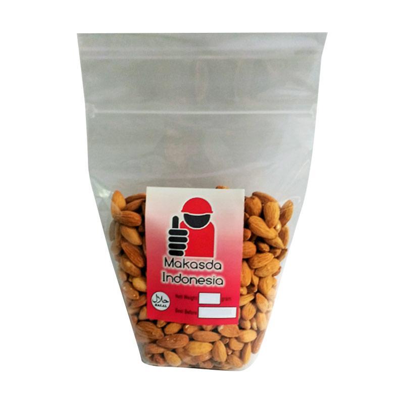 harga Makasda Roasted Kacang Almond Kupas [500 g] Blibli.com