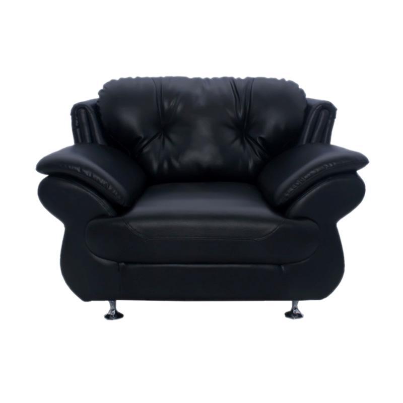 Aim Living Belgio 1 Seat Sofa - Hitam