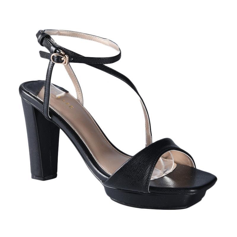 Lina Lee Diana Sepatu High Heels - Hitam