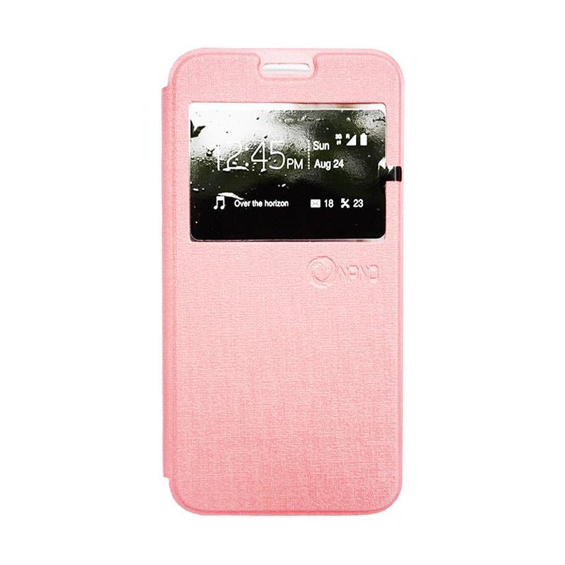 harga Nano Flip Cover Casing for Xiaomi Redmi Mi4i - Pink Blibli.com