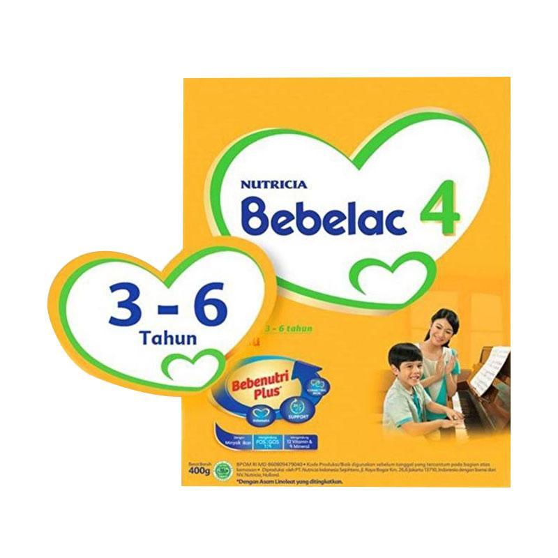 Bebelac 4 Chocolate Susu Formula [400 g]