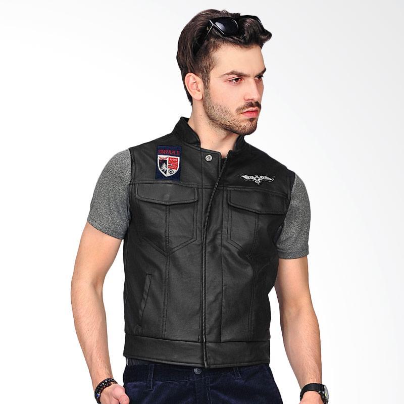 SJO & SIMPAPLY Blackwood Men's Vests - Black