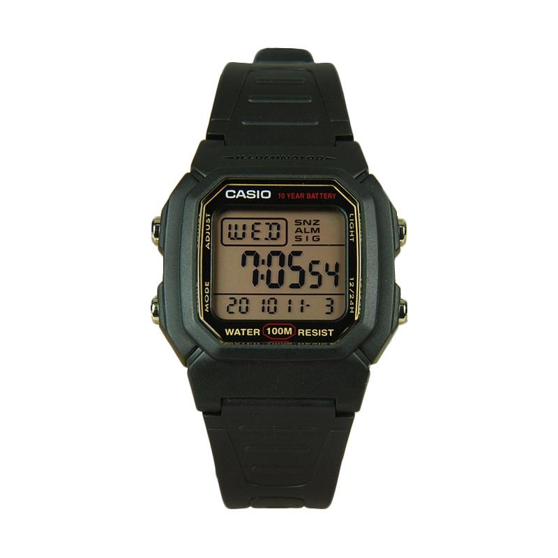 CASIO W-800HG-1A Digital Jam Tangan Pria - Black