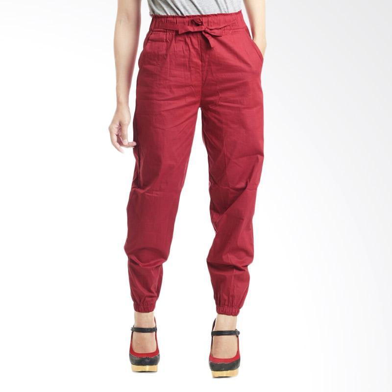 Kus_group ST Celana Jogger Wanita - Red