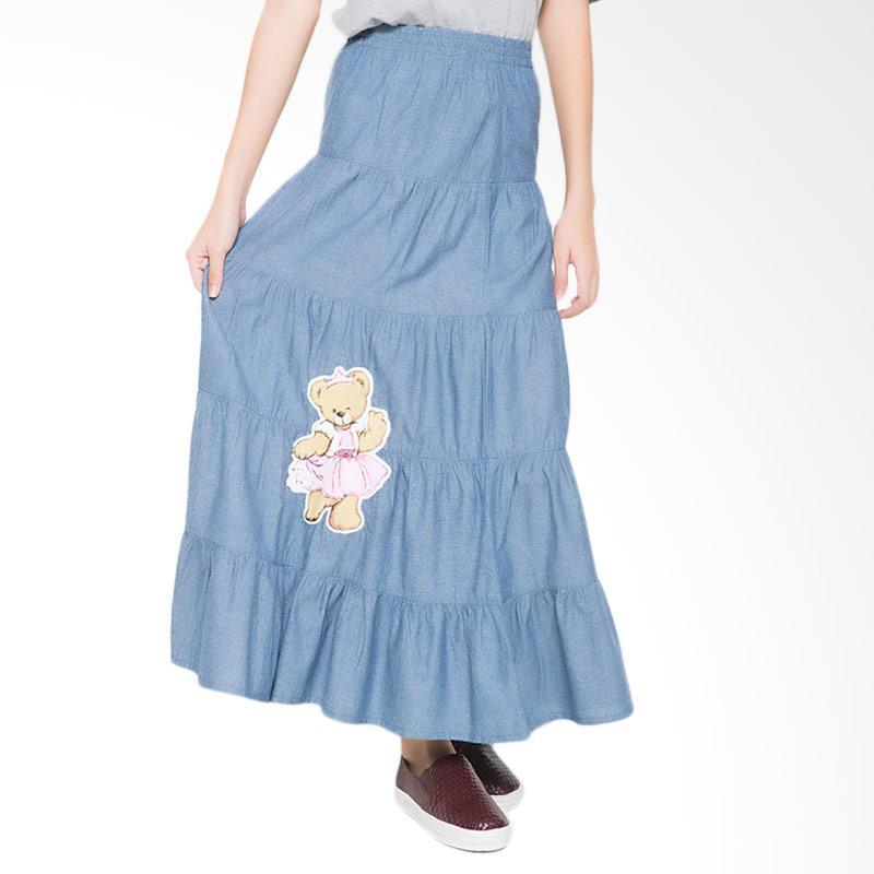 4 You Princess Bear Long Skirt - Biru