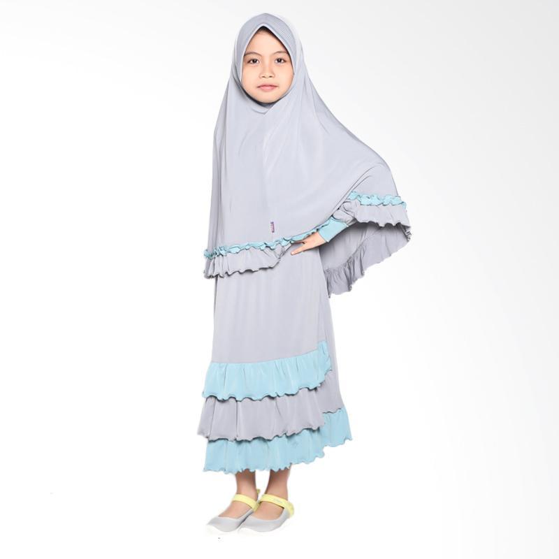 Allev Nadiya Baju Muslim Anak - Silver