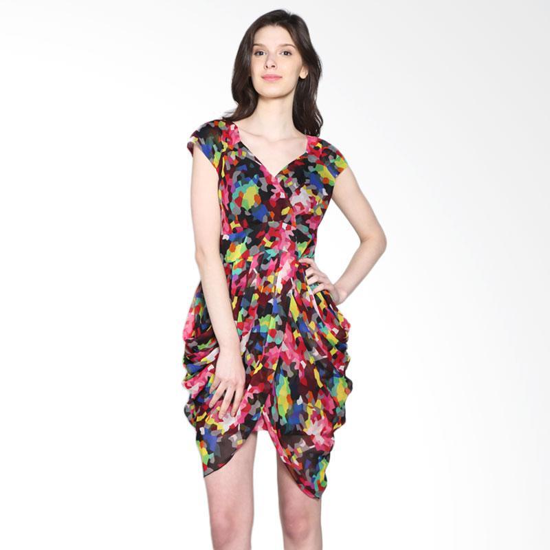 Carte Mosaic Lady Dress - Multicolor