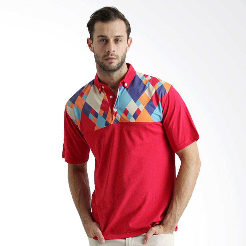 Labette 105530707 Fancy Print Polo Shirt - Red Extra diskon 7% setiap hari Extra diskon 5% setiap hari Citibank – lebih hemat 10%