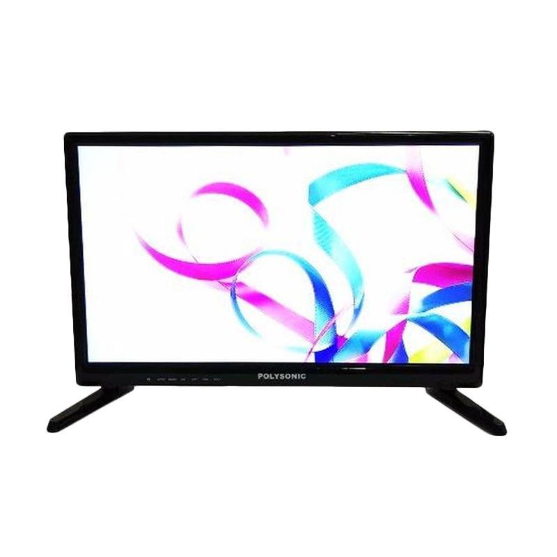 Polysonic 1900 TV LED - Hitam [19 Inch]