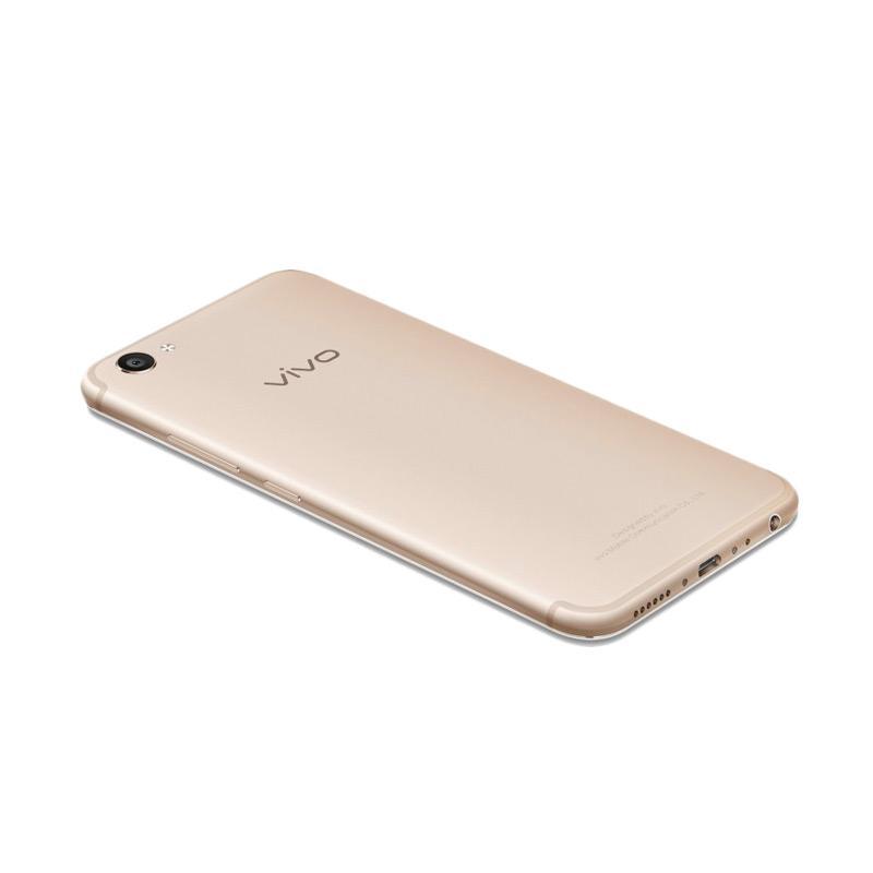 VIVO V5 Plus Smartphone - Gold [64GB/ 4GB]
