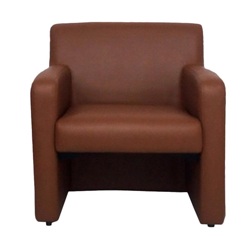 Aim Living Milo 1 Seat Sofa - Coklat
