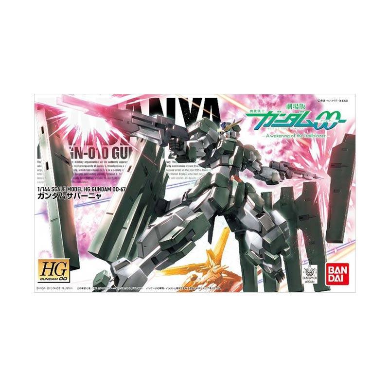 Bandai HGOO GN-010 Gundam Zabanya Model Kit [1:144]