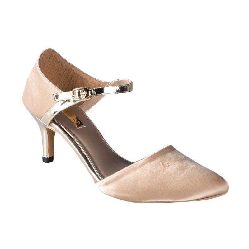 Lina Lee Amanda Sepatu High Heels - Cream