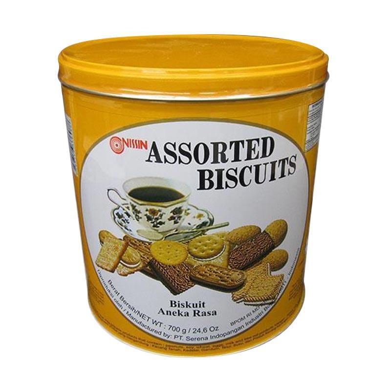 harga Nissin Assorted Biscuit Wafer [700 g] Blibli.com