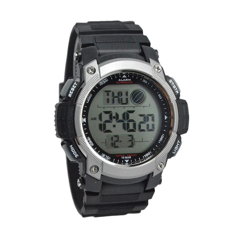 Q Q D48H159M119J002YHTMLS Waterproof Digital Watch Jam Tangan Pria - Black 909fa33523