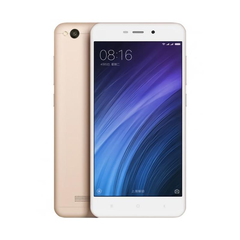 Xiaomi Redmi 4A Smartphone - Gold [32GB/2GB/Garansi TAM]