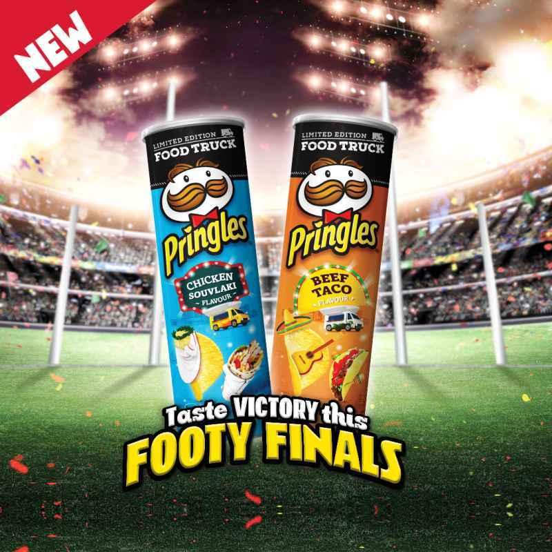 Jual Pringles Potato Chips Food Truck Edition Beef Taco Chicken Souvlaki Online Maret 2021 Blibli