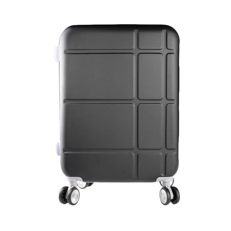 Polo Twin 707 Expandable Trolley Bag - Black [21 inch]