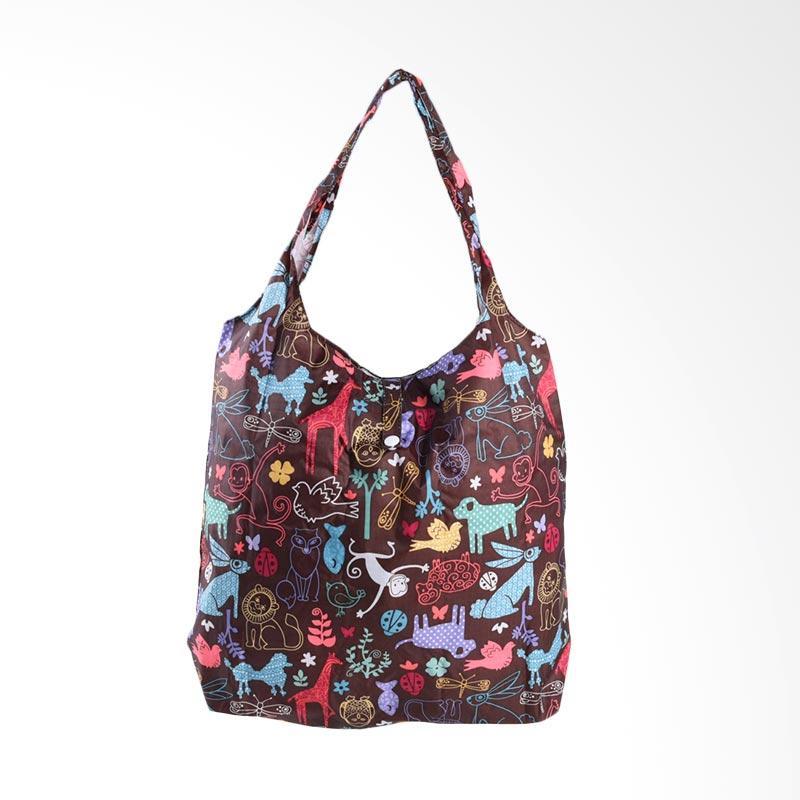 harga Papercut Bags Wow Nam-2 Parachute Owl Small Folding Tas Wanita - Dark Brown Blibli.com