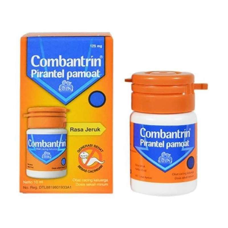 Combantrin Sirup Jeruk 10 ML