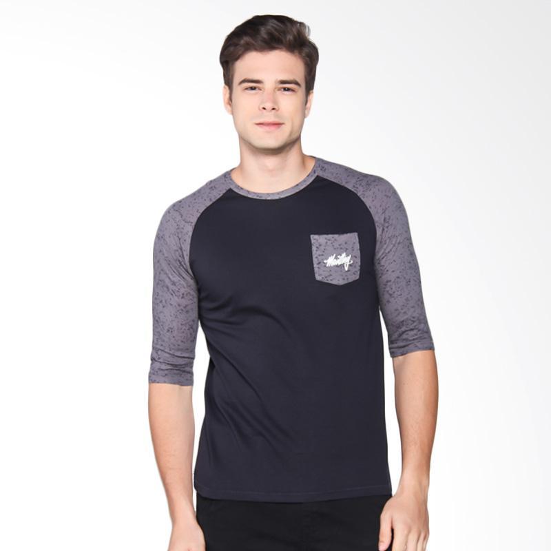 Moutley Tshirt Pria - Grey 371051712