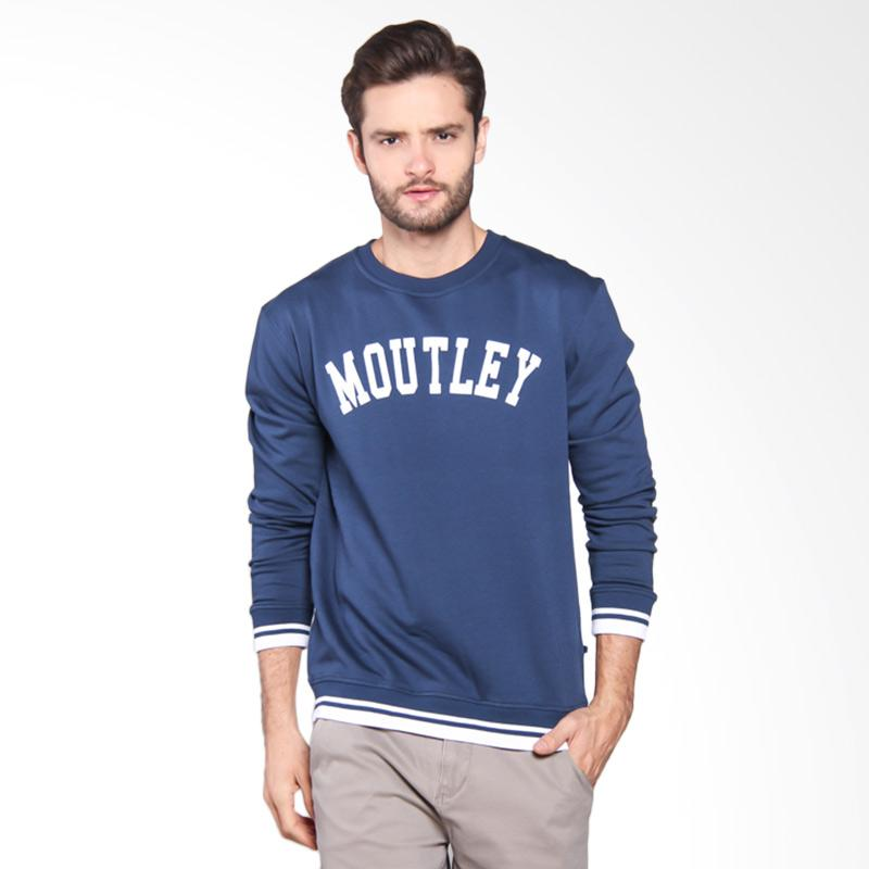 Moutley Sweater Pria - Blue 313051715