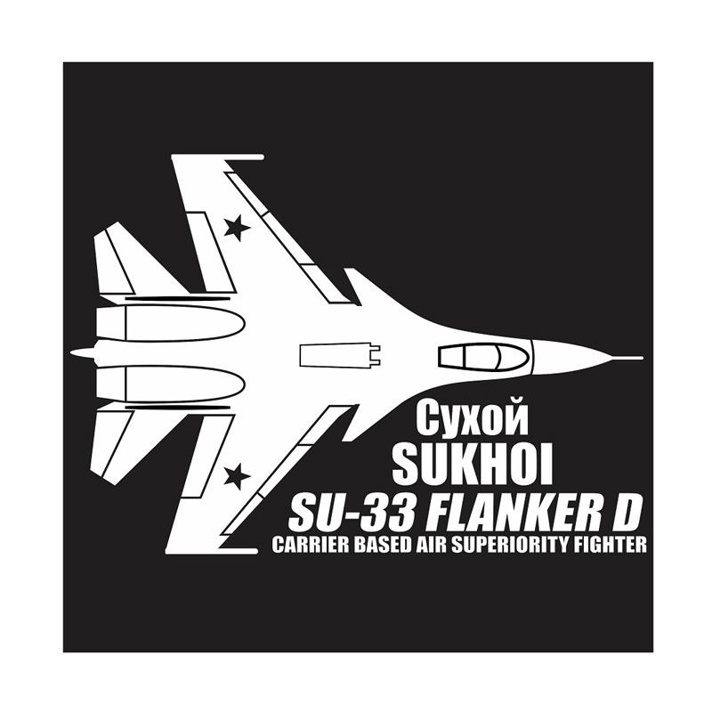 harga Kyle Sukhoi SU-33 Flanker D Cutting Sticker Aksesories Body Mobil Blibli.com